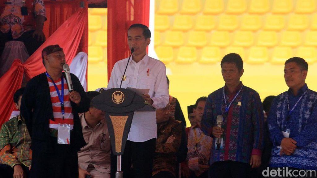 Cerita Jokowi Larang Impor Jagung untuk Sejahterakan Petani