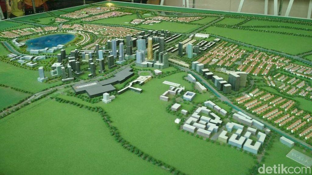 Modernland Mulai Kembangkan Apartemen di Jakarta Garden City
