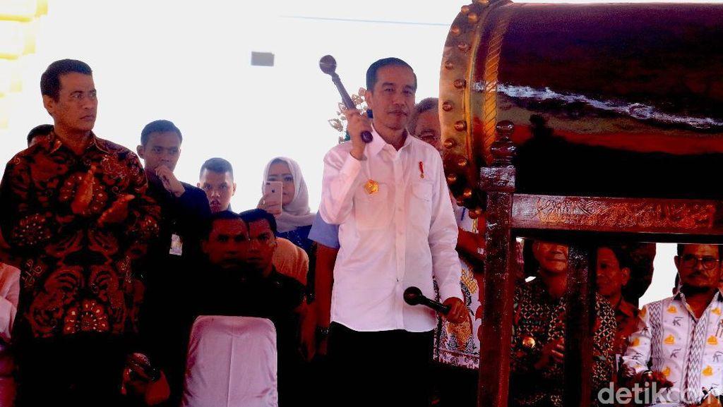 Jokowi Pastikan Pembangunan Infrastruktur Pertanian Berkelanjutan