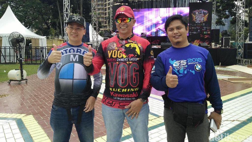 Komunitas Moge Malaysia Kepincut Pesona Indonesia
