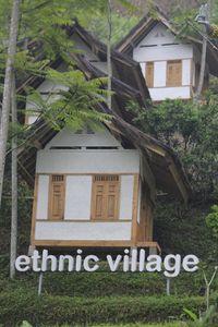 Namanya adalah Ethnic Village atau Kampung Dayang Sumbi (Wisma Putra/detikTravel)