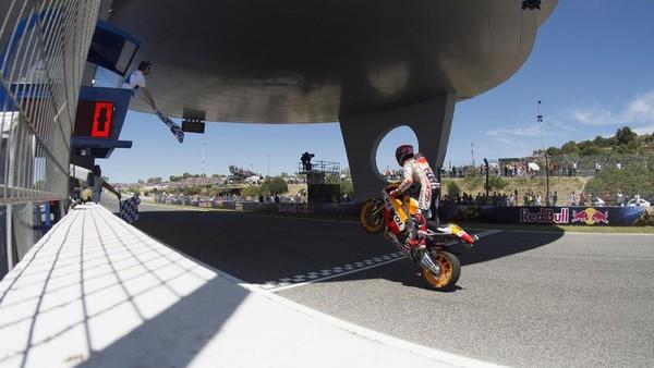 Tak Ada Alasan Bagi Marquez untuk Tak Puas Finis Kedua
