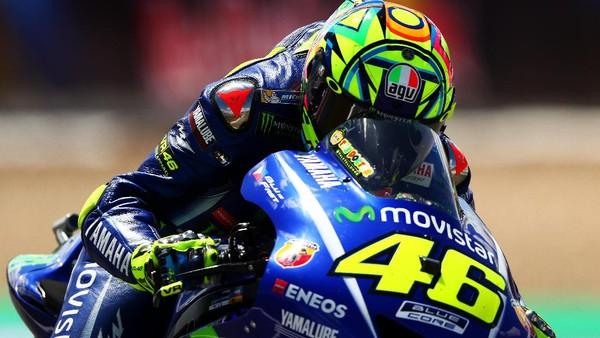 Tak Puas dengan Hasil Kualifikasi, Rossi Akui Lajunya Belum Optimal