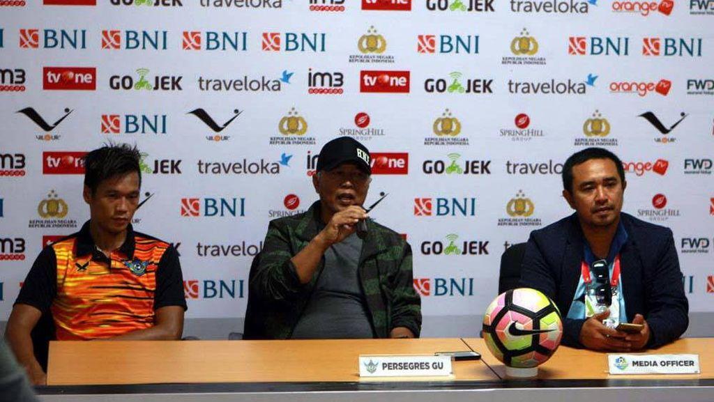 Kalah dari Bhayangkara FC, Gresik United Merasa Dicurangi Wasit