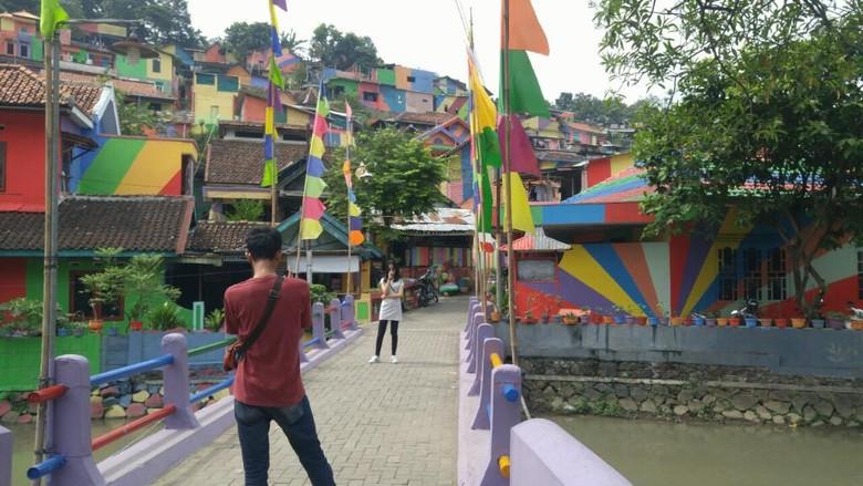 Kampung Pelangi di Semarang (Angling/detikTravel)