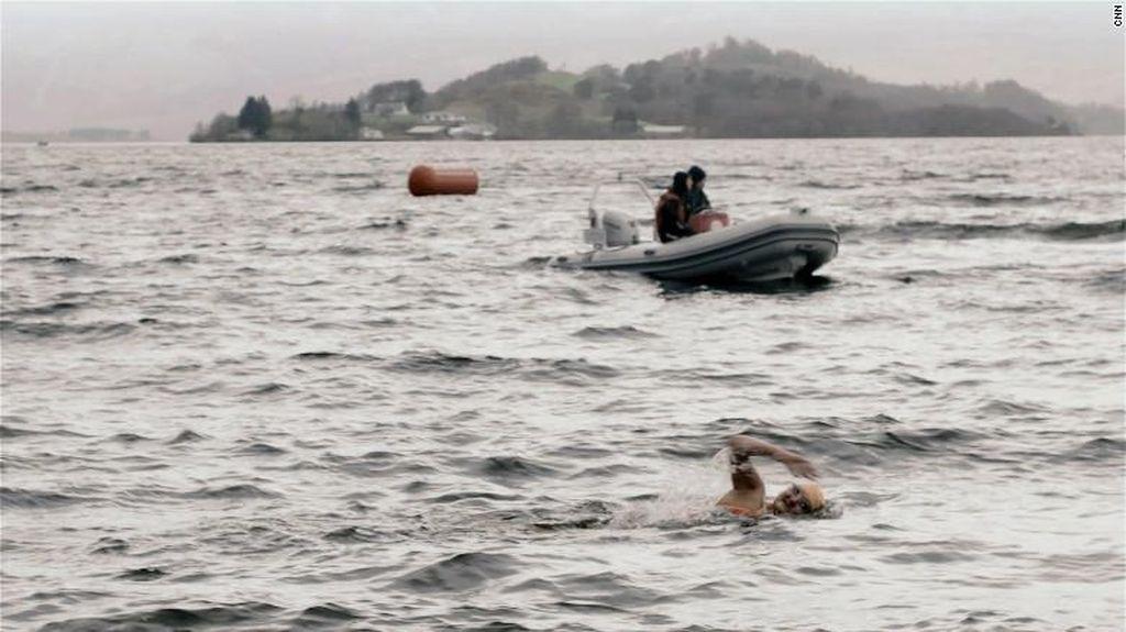 Ice Swimming, Olahraga Berenang Ekstrem di Suhu 5 Derajat Celsius