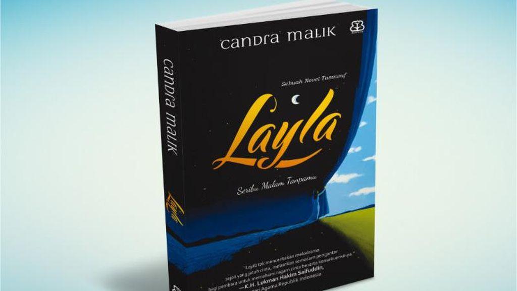 Sastrawan Sufi Candra Malik Rilis Novel Baru Layla