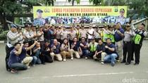Tingkatkan Kemampuan Anggota, Polres Jakut Gelar Lomba Diskresi