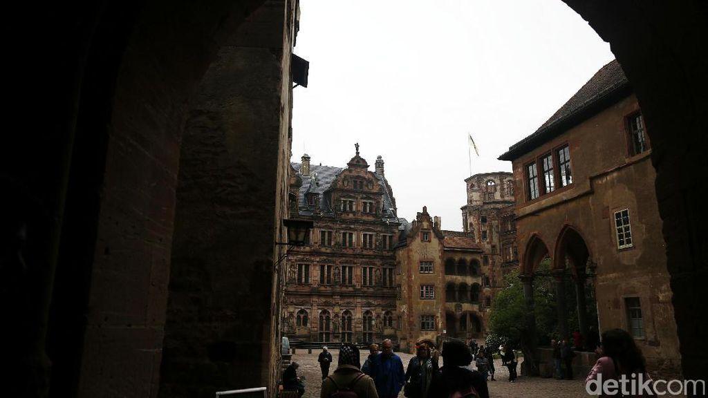 Pesona Kastil Heidelberg Jerman