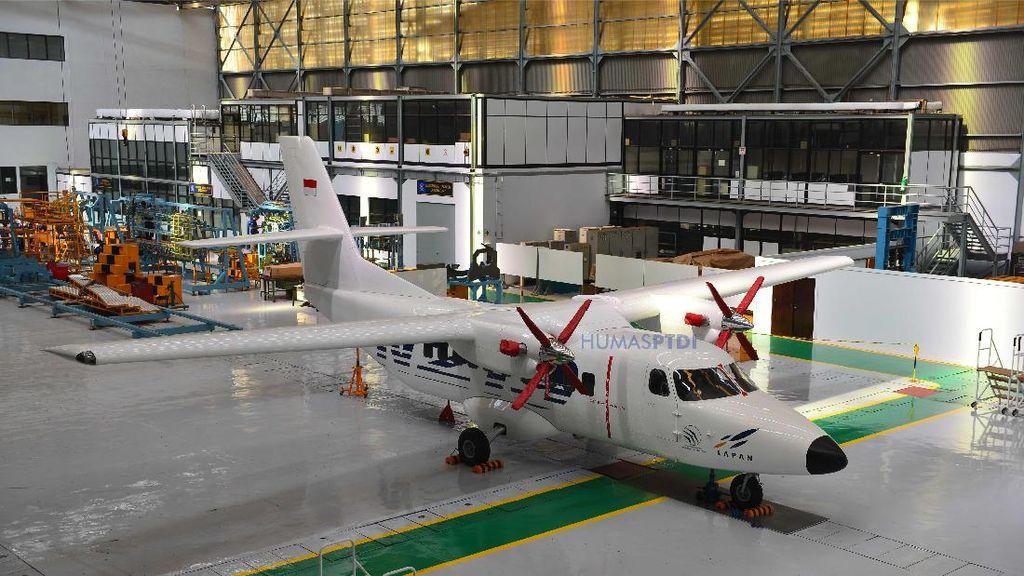 Pesawat N219 Dirancang Terbangi Daerah-daerah Terpencil