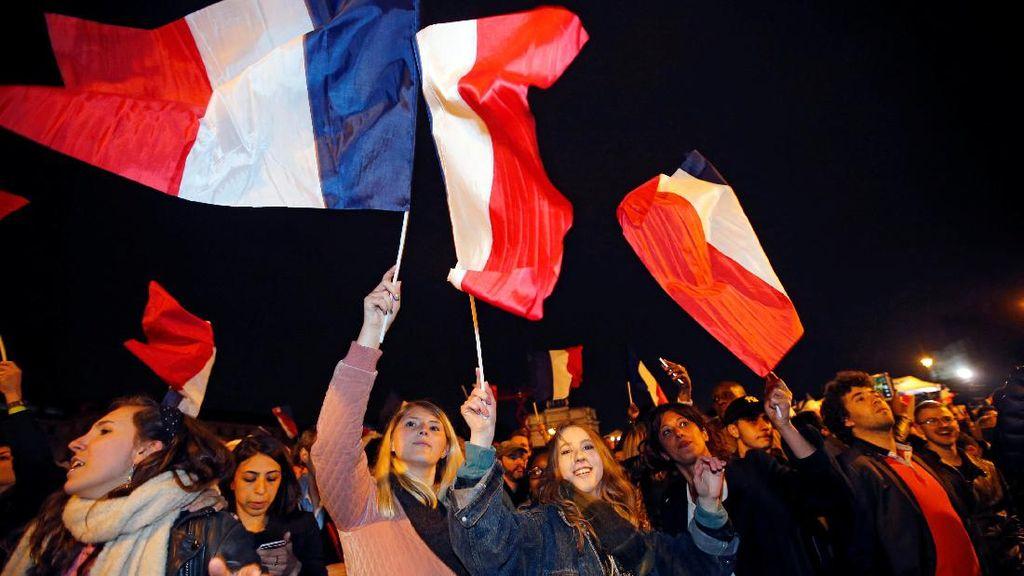 Bikin Kacau Usai Pilpres Prancis, 141 Orang Ditangkap