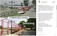 Jalan Madukoro Raya dulu dan kini
