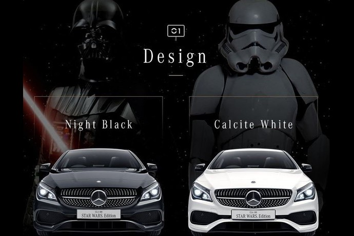 Mercedes-Benz Edisi Star Wars