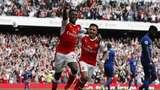 Arsenal Kalahkan MU 2-0 di Emirates Stadium
