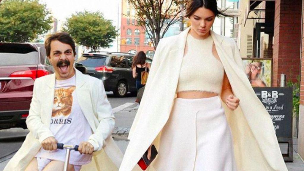 Modal Photoshop, Pria Ini Jadi Sobat Kendall Jenner