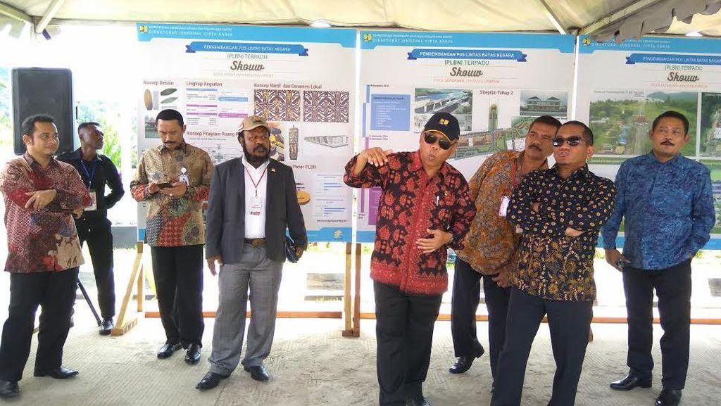 Jokowi Resmikan Pos Perbatasan Megah RI-PNG