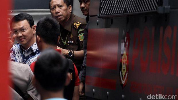 Ahok ditahan di Rutan Cipinang.