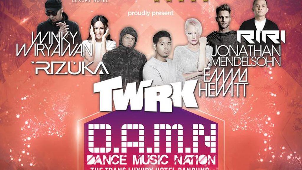Lets Party! DJ Winky Sampai TWRK Bakal Guncang Bandung