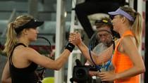 Duel Panas Bouchard Vs Sharapova yang Berakhir dengan Jabat Tangan Nan Dingin