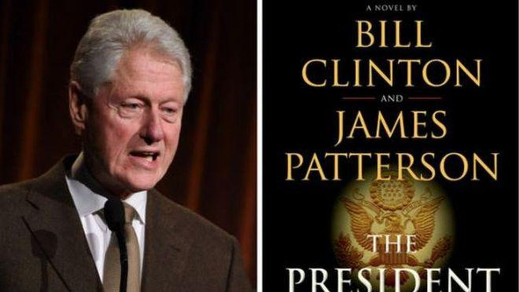 Bill Clinton Tulis Novel Thriller Bareng James Patterson