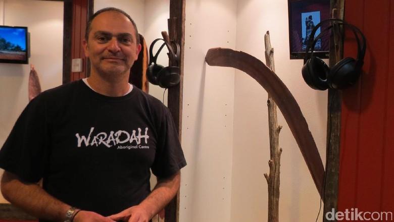 Farid Nayer dan bumerang yang tak bisa balik lagi (Fitraya/detikTravel)