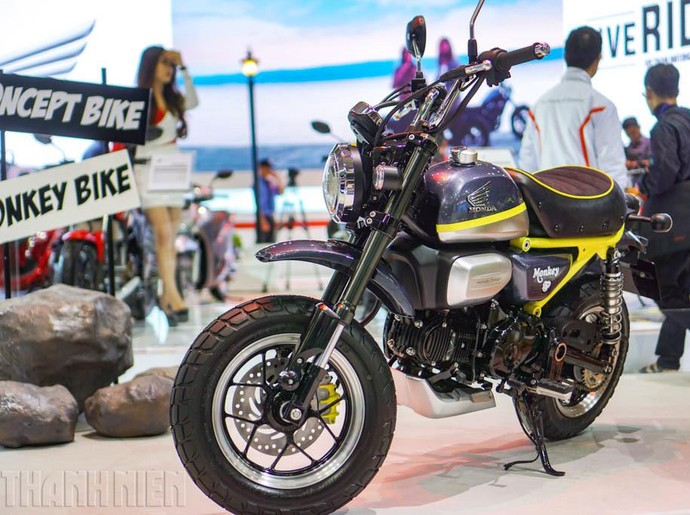 Si Monkey Gendong Mesin 125 cc