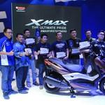 Yamaha Serahkan XMAX untuk #XMAXFIRSTOWNERS secara Simbolis