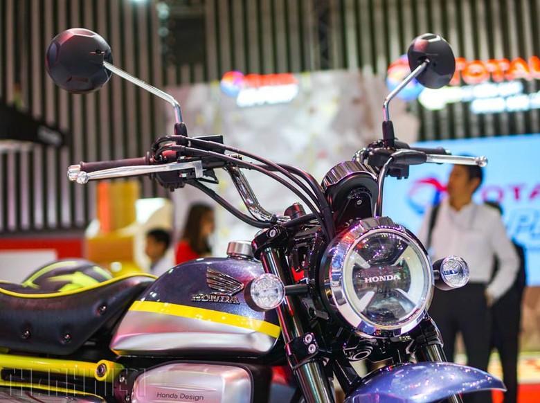 Motor Mungil Honda Monkey Pakai Mesin 125 cc