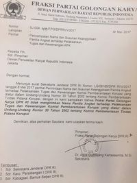 Susul 6 Partai, Golkar Tak akan Kirim Wakil di Pansus Angket KPK