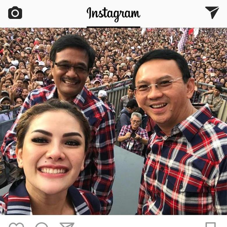Beri Support ke Ahok, Instagram Nikita Mirzani Dibanjiri Komentar
