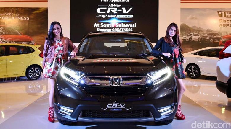 Honda Boyong 11 Mobil ke Makassar, Jagoannya CR-V