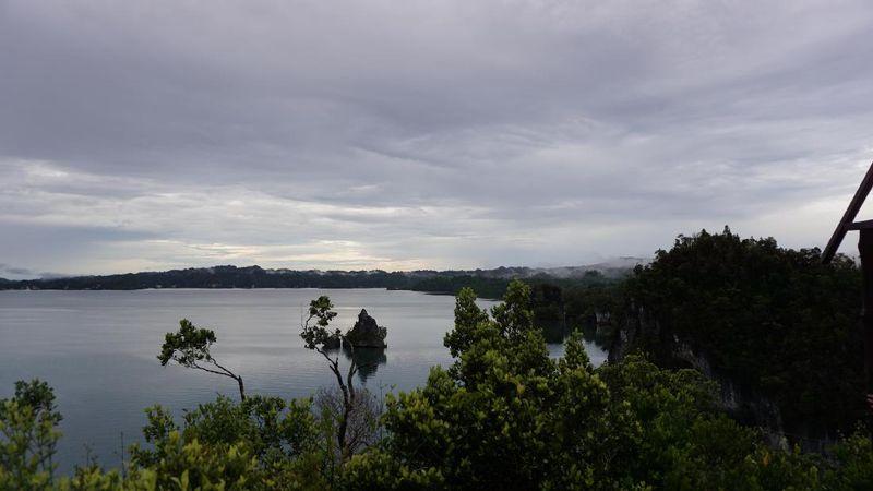 Di lokasi yang mempunyai perairan tenang ini ada tempat persinggahan para raja sebelum melanjutkan pelayaran (Masaul/detikTravel)