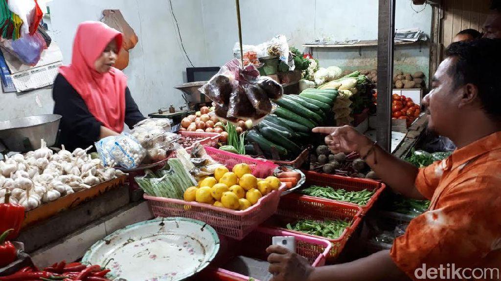 Satgas Pangan Polrestabes Surabaya Mulai Sidak Pasar