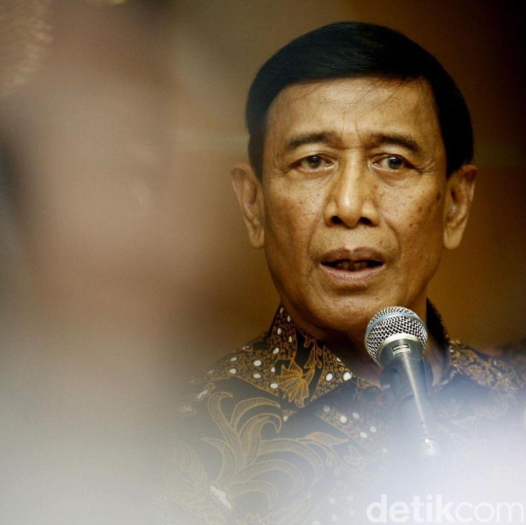 Wiranto Tepis Kekhawatiran UU Antiterorisme Disalahgunakan