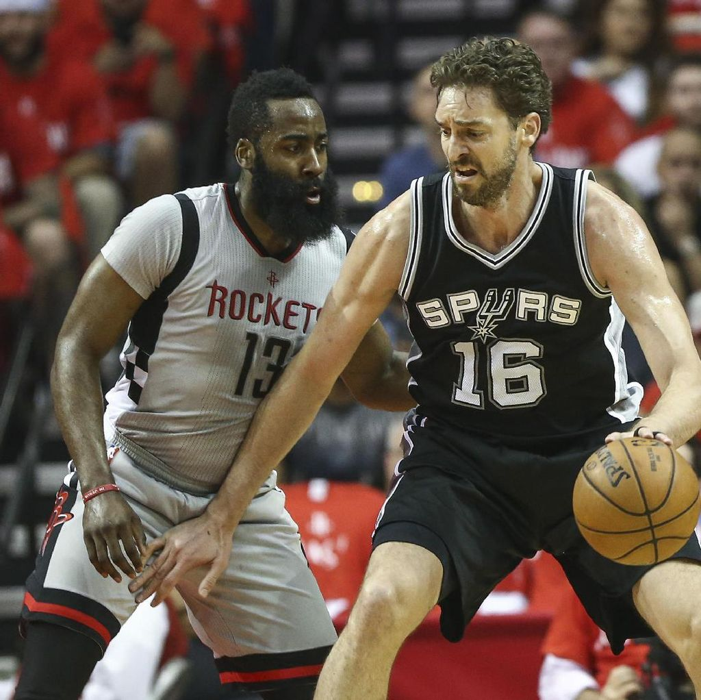 Spurs Lewati Rockets, Hadapi Warriors di Final Wilayah