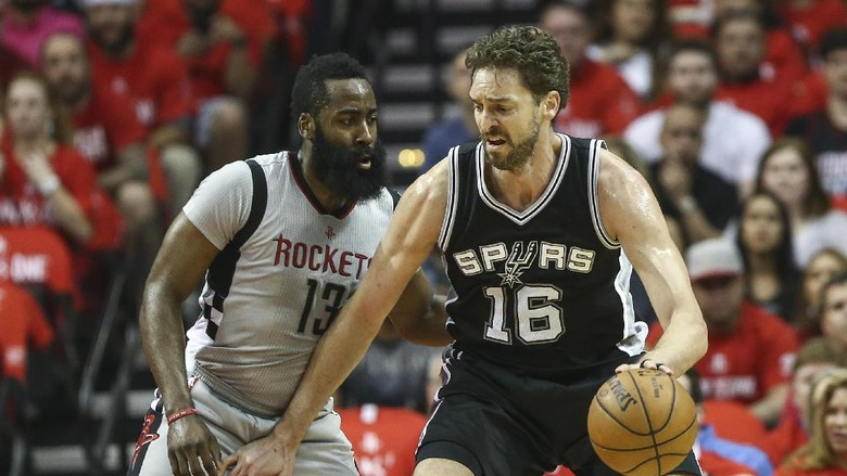 Spurs Lewati Rockets, Hadapi Warriors di Final Wilayah