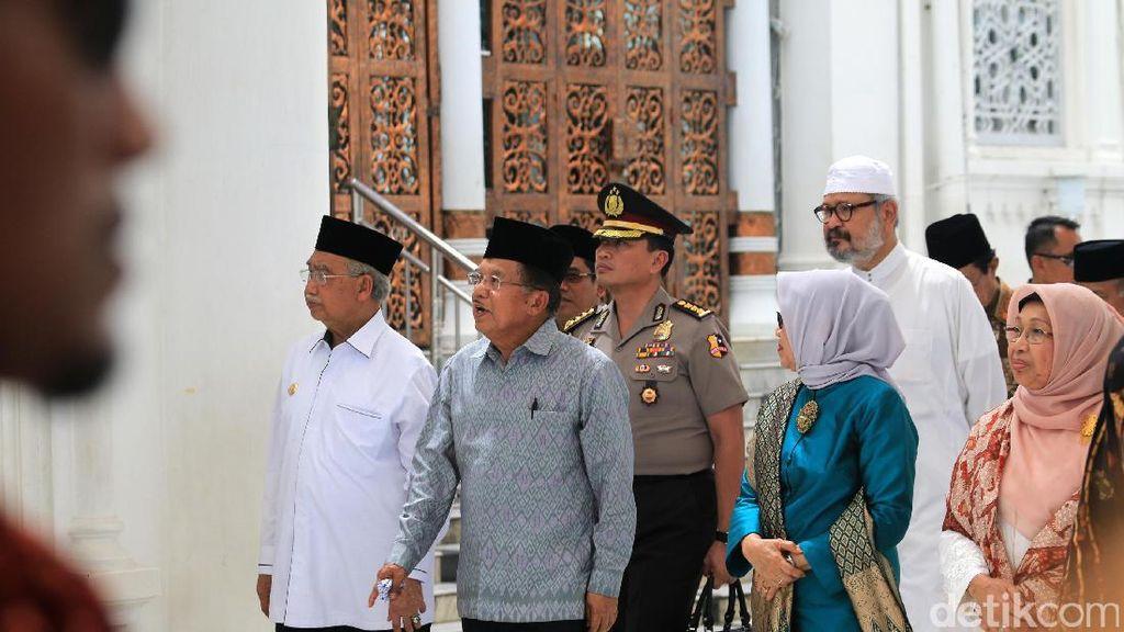 Pamer Wajah Baru Masjid Baiturrahman ke Wapres JK, Aceh Siap Pikat Wisatawan