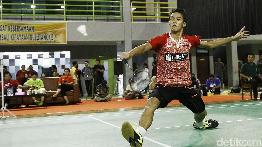 Ini Susunan Tim Indonesia vs India