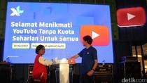Rekor MURI untuk XL-Youtube Break The Box