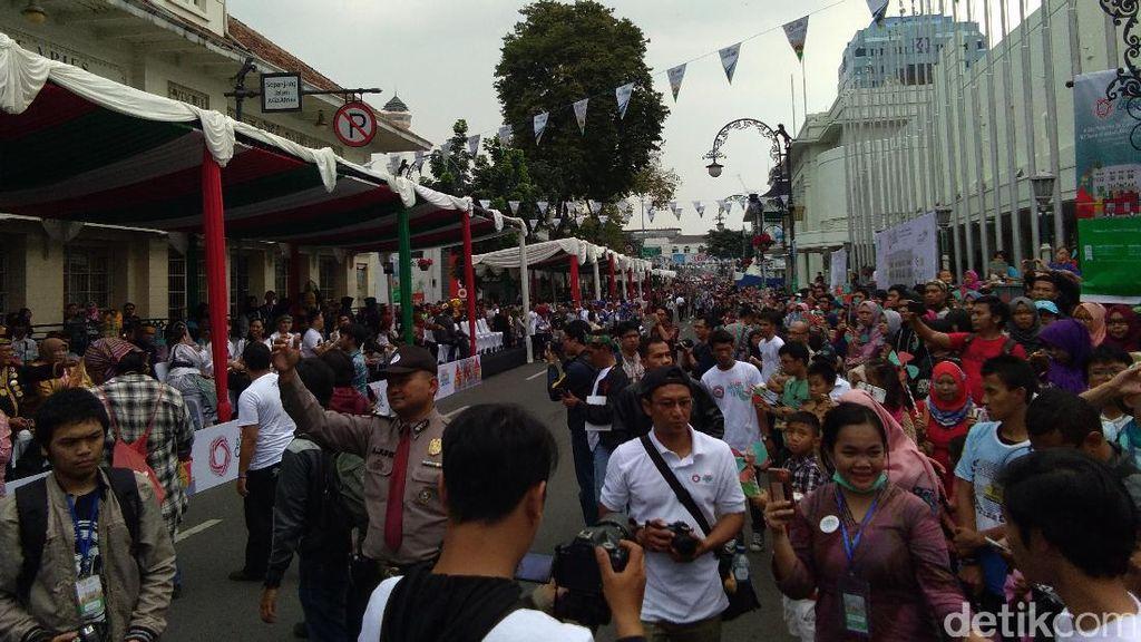 Begini Kemeriahan Asian African Carnival 2017 di Bandung