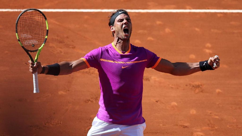 Nadal Lolos ke Final Madrid Terbuka