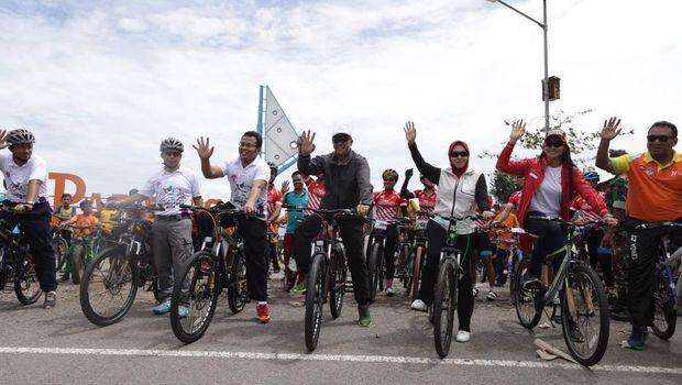 Program ini diharapkan mengakrabkan lagi masyarakat dengan sepeda.