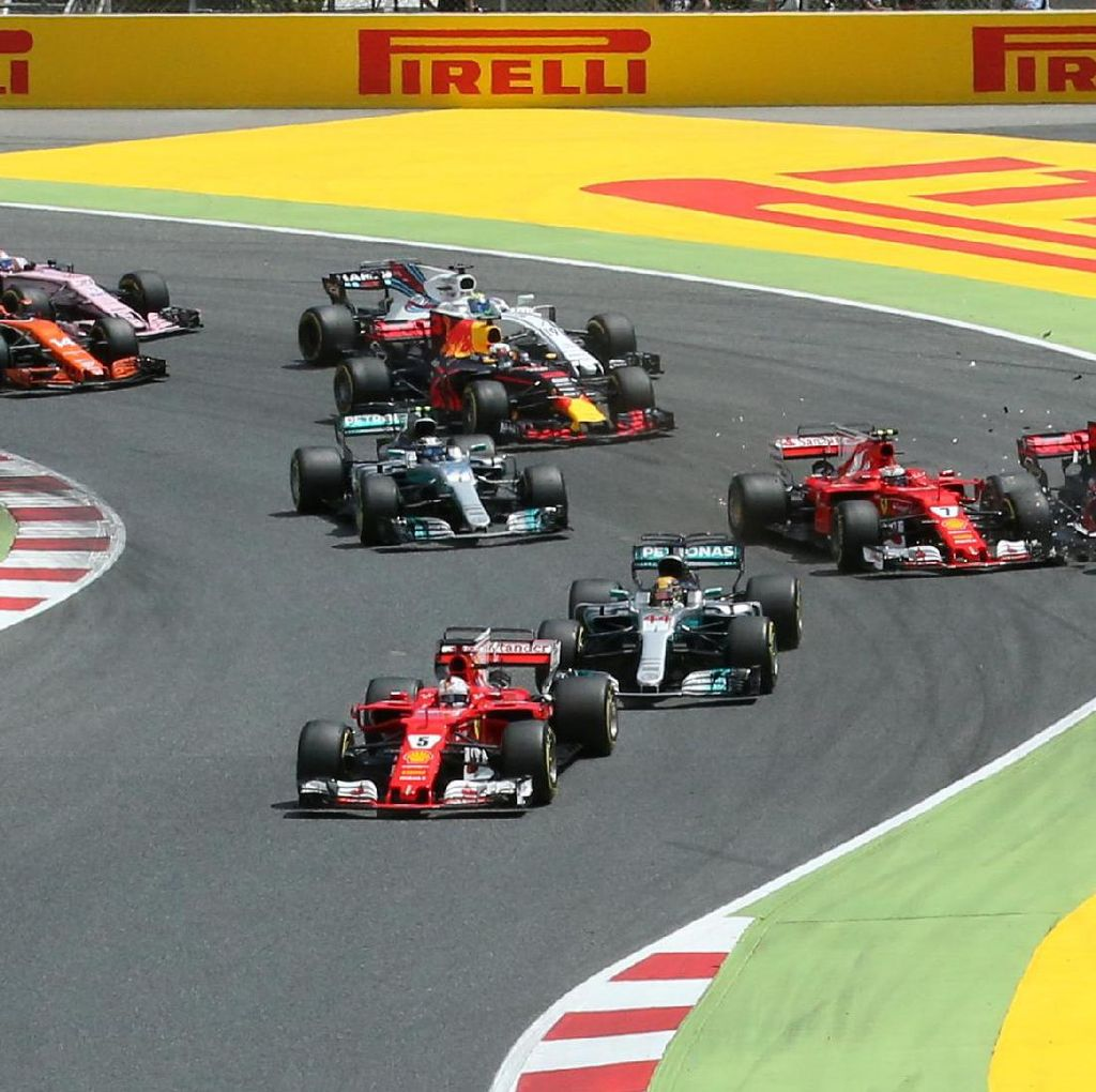 Hasil F1 GP Spanyol