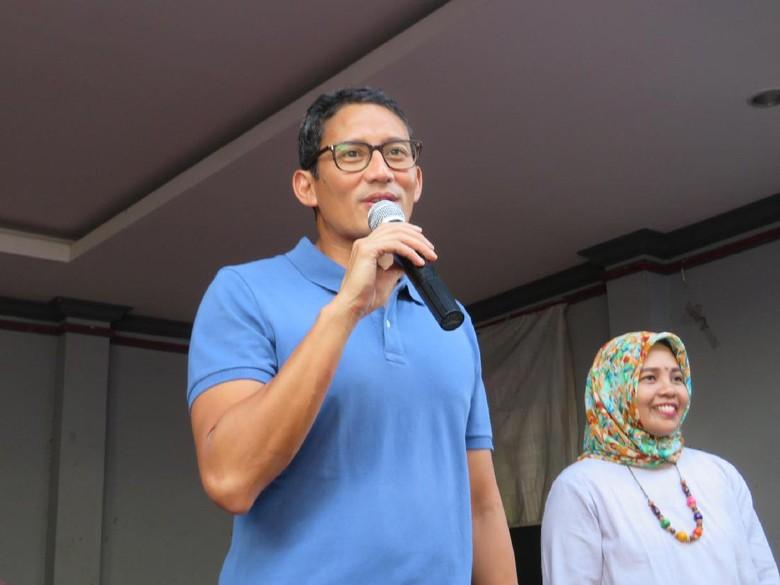 Syukuran Mari Tanggalkan Seragam Kampanye - Jakarta Wakil Gubernur DKI Jakarta Terpilih Sandiaga Uno ingin menghilangkan konflik antar pendukung setelah Pilkada Sandi mengingatkan pendukung