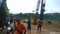 Proyek Pembangunan Jembatan di Kediri Sebabkan Rumah Warga Retak