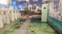 Bandara Sepinggan Makin Keren, Kini Toiletnya 3 Dimensi