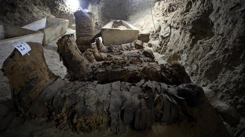 Lagi, 17 Mumi Ditemukan di Kuburan Kuno Mesir