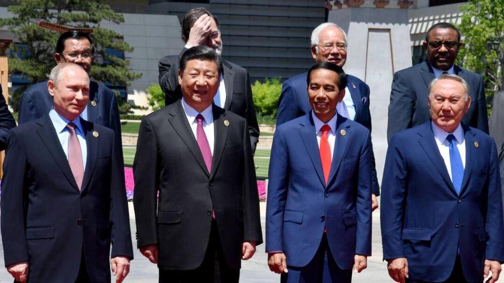 Jokowi dan Sejumlah Kepala Negara Bahas Jalur Sutra Modern