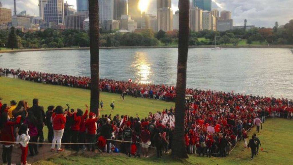 Solidaritas Terhadap Ahok di Australia
