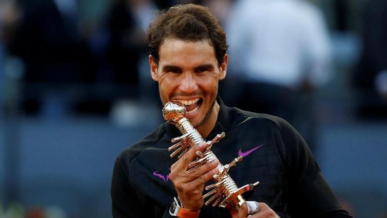 Nadal Menangi Gelar Kelima di Madrid Terbuka